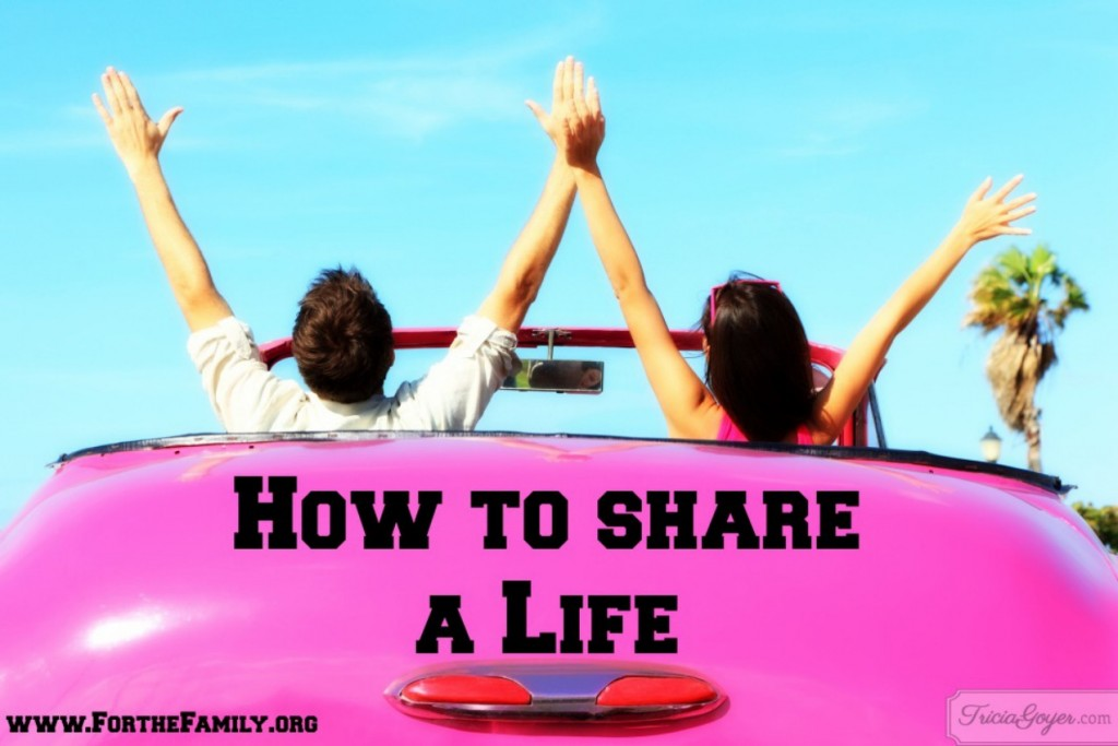 How to Share Your Life Joyfully