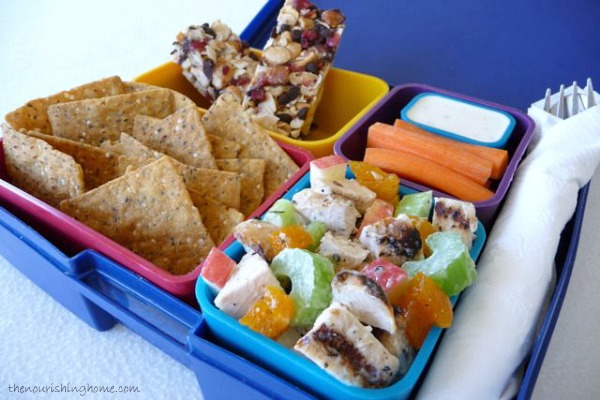 The Healthy Lunchbox Apricot Apple Chicken Salad For The Family