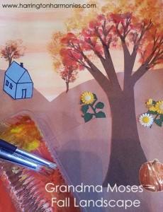 Grandma Moses Fall Landscape