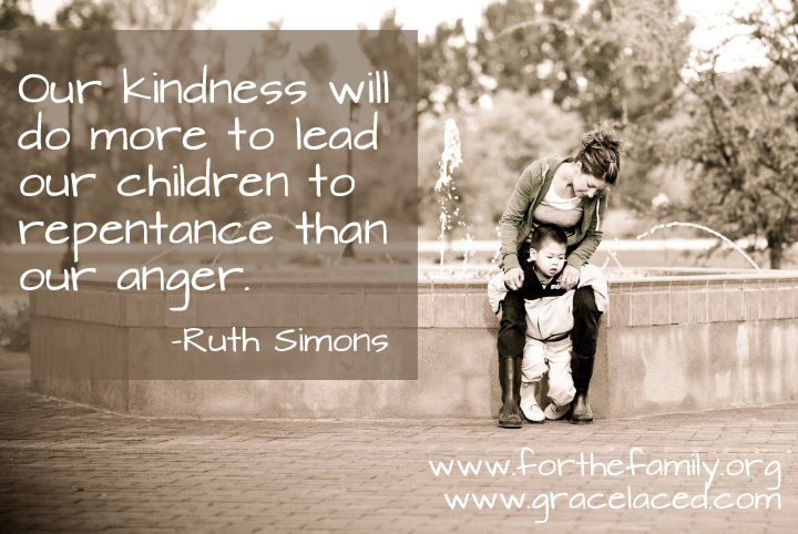 Kindness When Our Children Act Foolishly