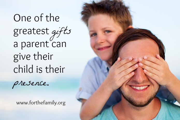 The Present Parent - Give Your Child the Gift of Your Presence