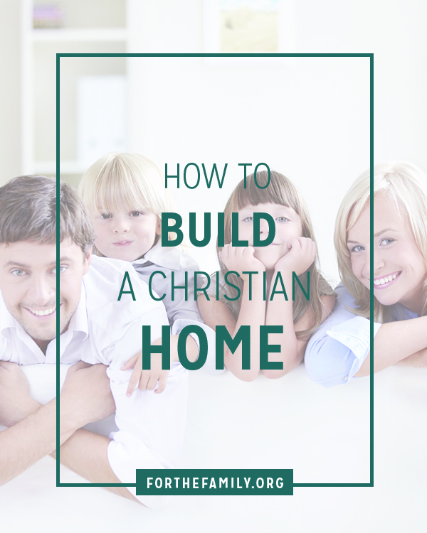 Building a Christian Home in today's culture might be confusing to you or just seem somewhat impossible in the culture we live in today. Even Christians can tend to focus on the wrong things when building a family to follow Christ. Here are simple, yet revolutionary ways to begin building a Christian home today!