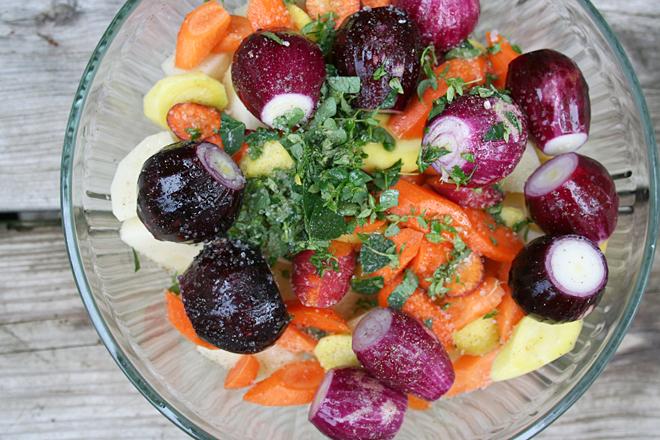 Fresh Vegatables from my Garden
