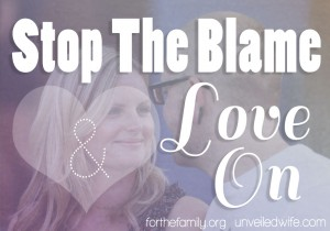 Stop Playing The Blame Game - Love on!