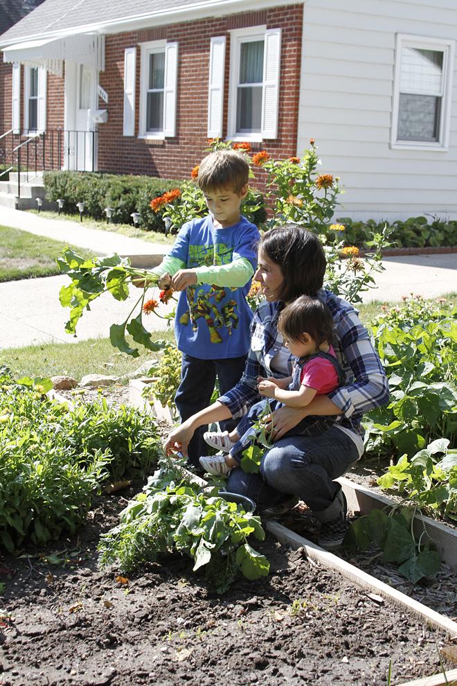 Gardening with my children