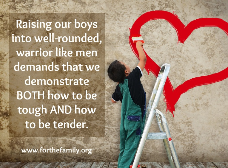 Funny Quotes About Raising Boys: Raising Boys To Be Godly Men {both Tough AND Tender}