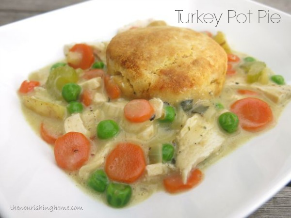Turkey Pot Pie (Making the Most of Leftovers)