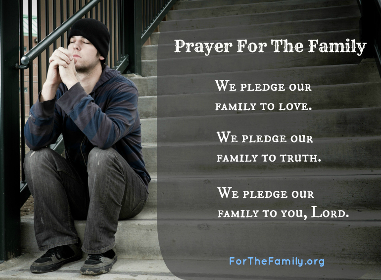 Prayer For The Family