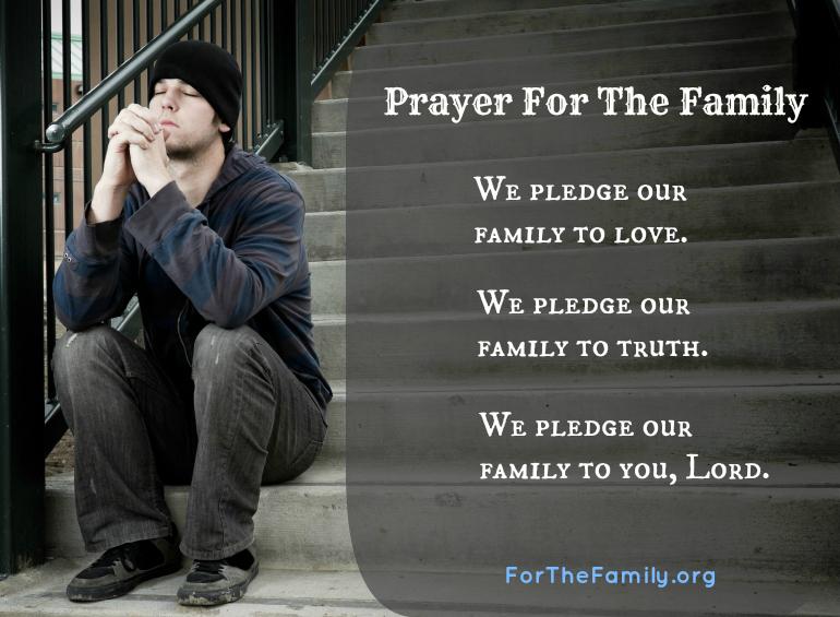 Prayer For The Family