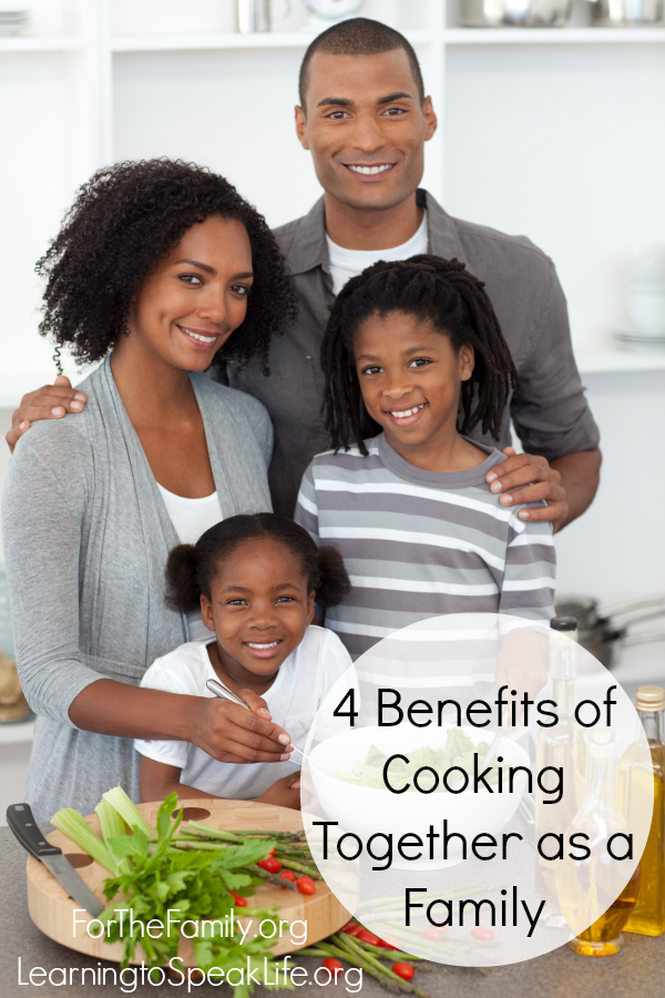 4 Benefits of Cooking Together as a Family