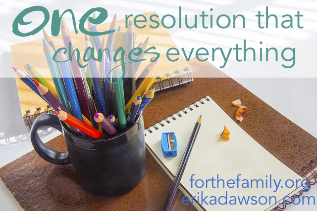 The ONE resolution that changes everything