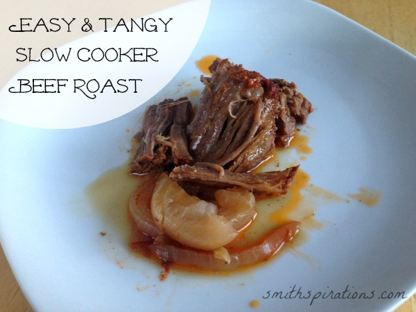 Easy & Tangy Slow Cooker Beef Roast