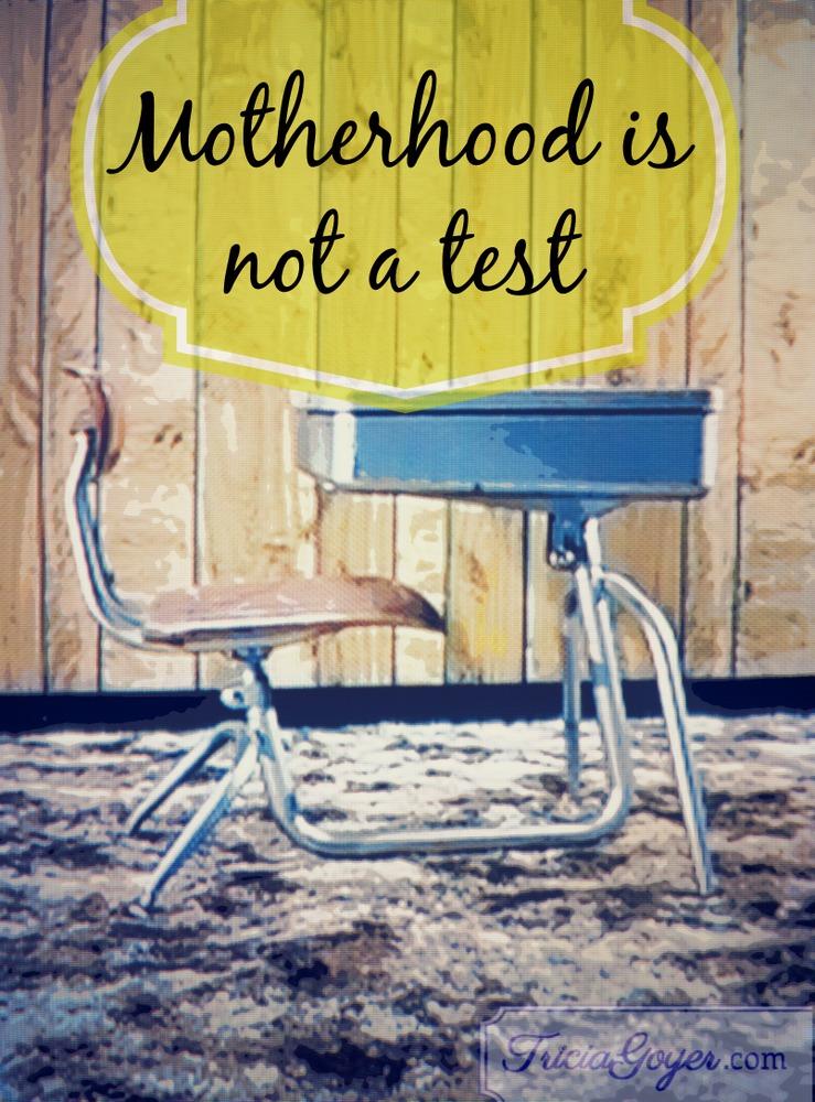 Motherhood Is Not a Test