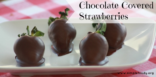 Strawberry season is in full swing making them an abundant and frugal option for snacking and treat making. Chocolate covered strawberries are the perfect treat for any picnic, or summertime gathering!