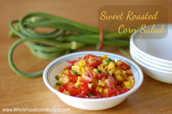 Sweet Roasted Corn Salad