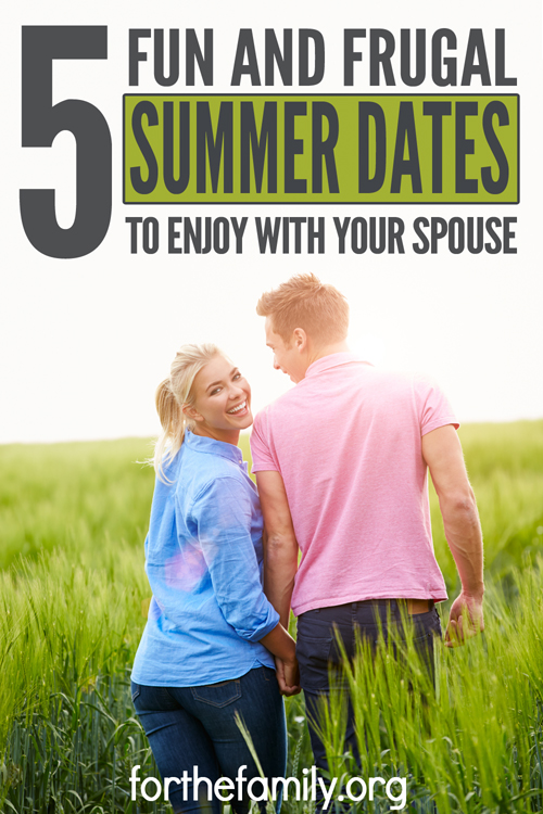 Are you searching for new ways to have a fun and frugal date night with your spouse? Here are some great ideas for summer dates. Let these ideas inspire those of you with little money in the budget (but lots of love in your heart) to get out and go on a date with your spouse!
