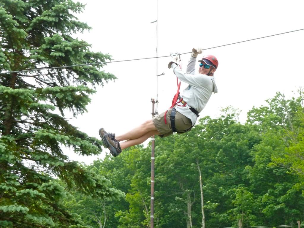 mitchell ziplining