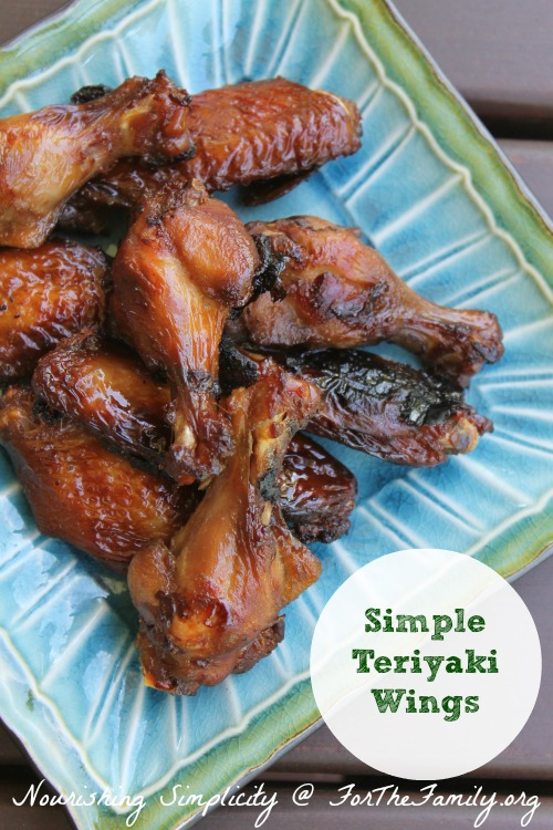 Are you looking for a perfect recipe for summertime? Simple Teriyaki Wings are an easy and delicious for the family or a whole crowd!