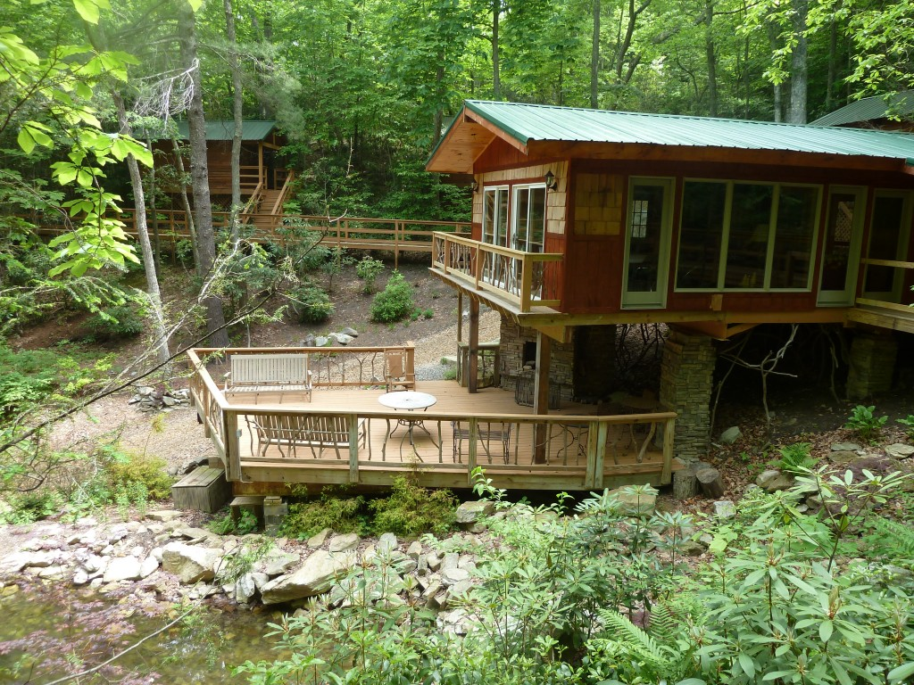 evergreen cabins at cherokee cove