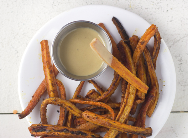 Spice It Up Carrot Fries