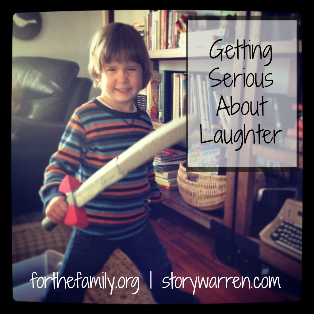 getting serious about laughter