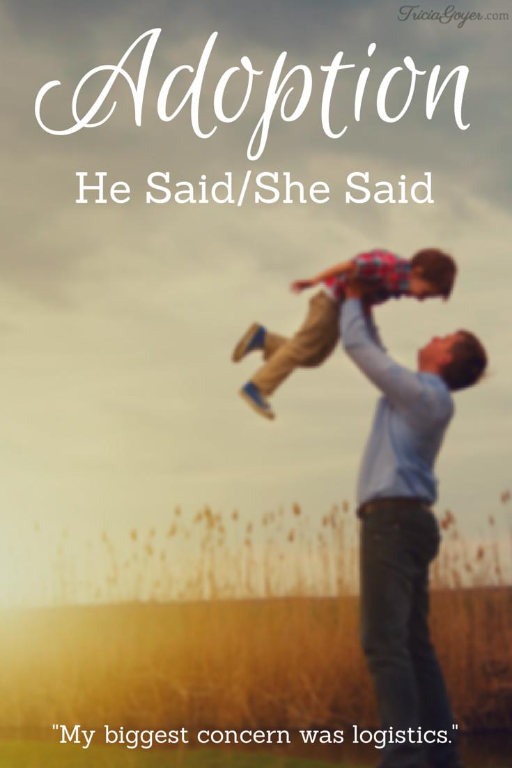 Adoption: He Said/She Said - ForTheFamily.org