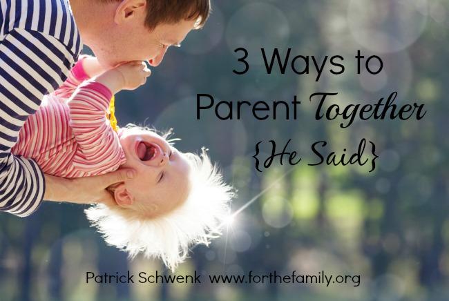 3 Ways to Parent Together