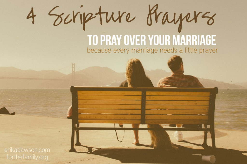 4 Scripture Prayers to Pray for Your Marriage  #Marriage #Prayer #praytruth