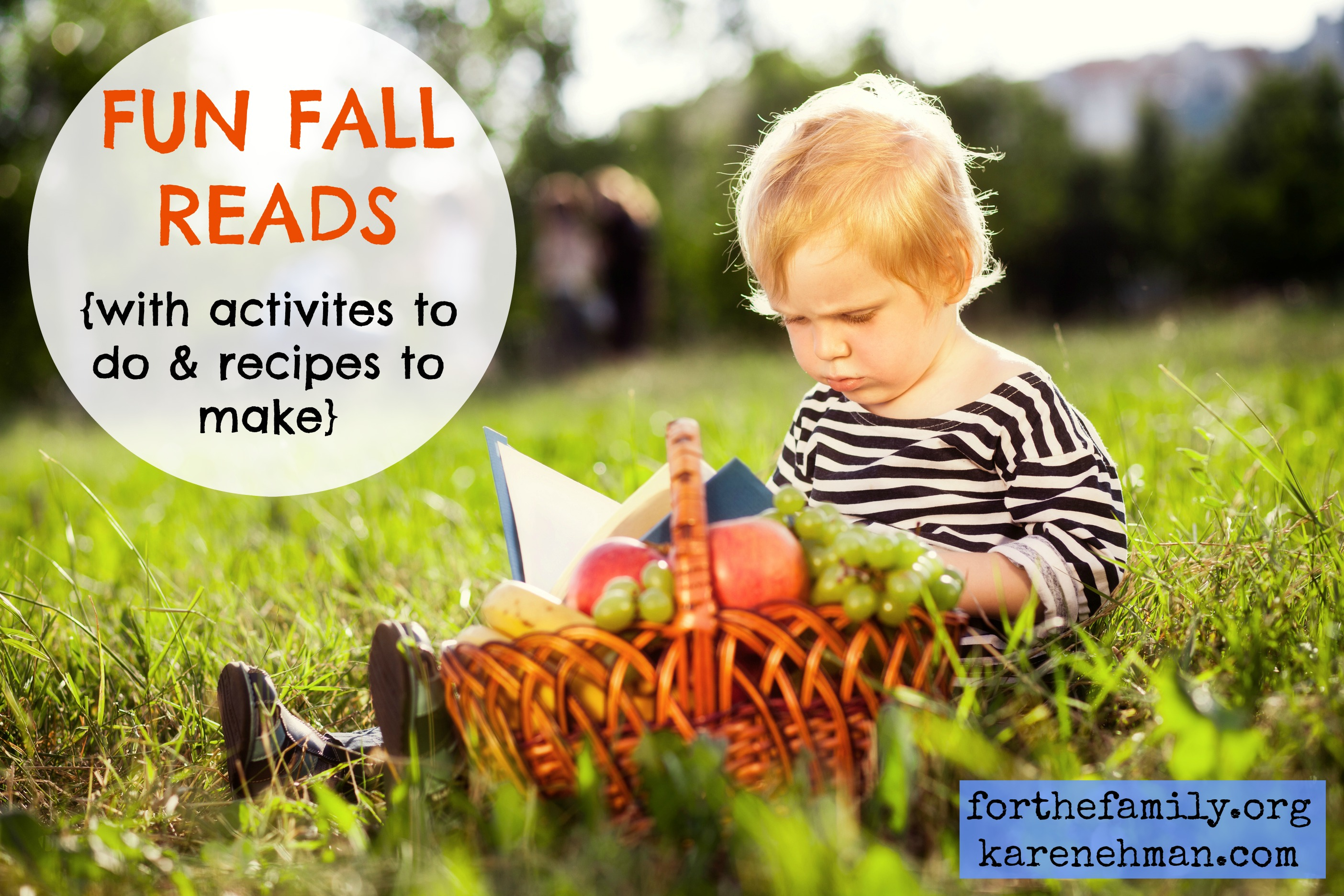 Fun Fall Reads {Complete With Activitivies & Recipes