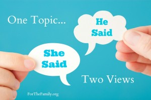 one topic two views