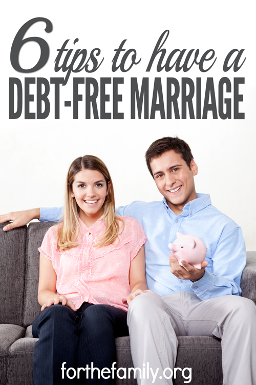 6 Tips To Have A Debt-Free Marriage