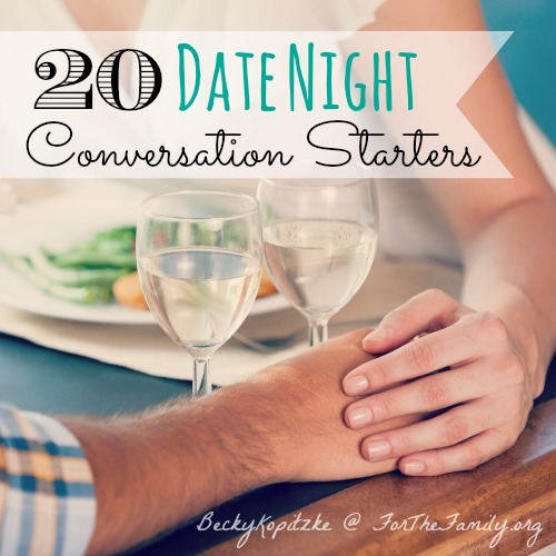 20 date night conversation starters