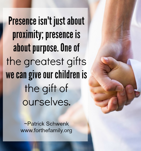 The Power of the Presence of parents in family life