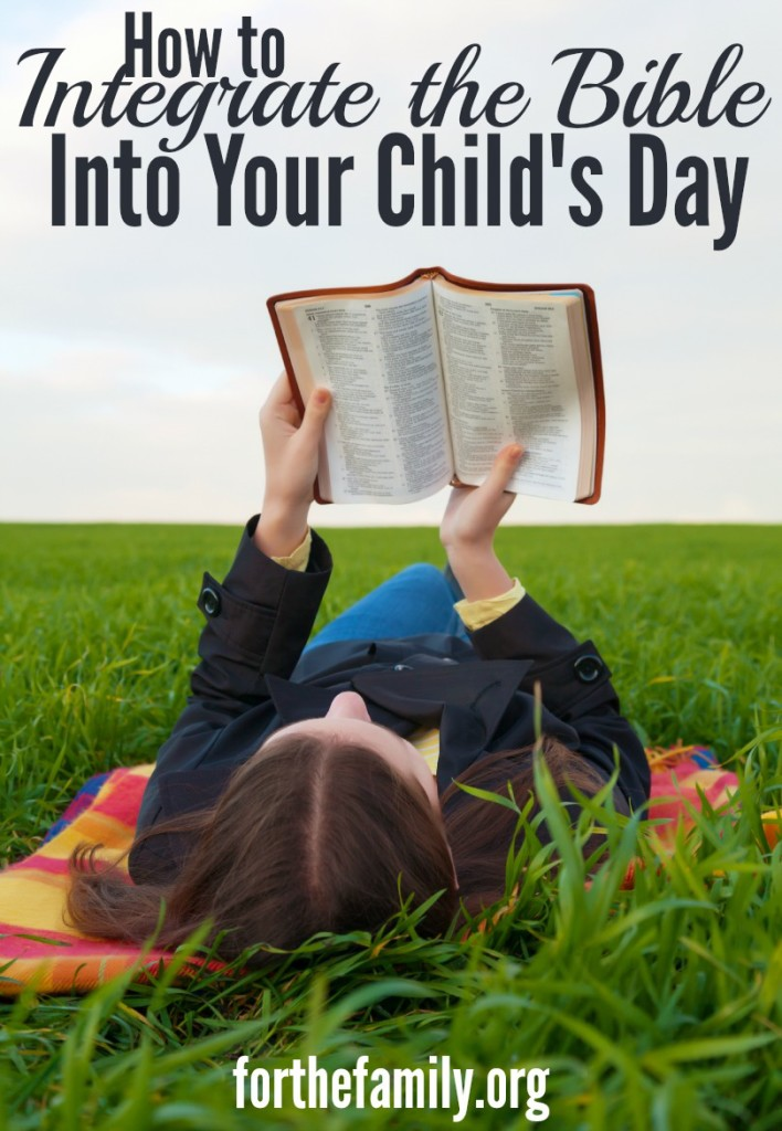 How can we live out teaching our children the Bible in everyday life? Here are some practical ways to accomplish this.