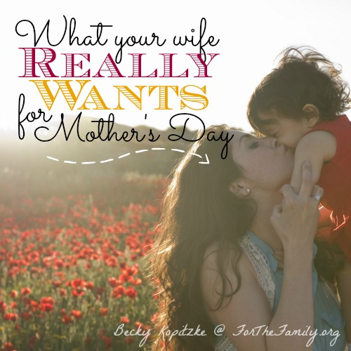 What's a family to do when they want to honor mom this Mother's Day and just aren't sure what gift will really hit the mark? Psst...We asked moms what they really want this year and their answers might surprise you! Don't miss the insider scoop that will lead you into loving Mom well this year!
