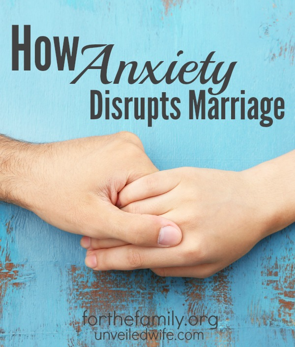 Anxiety can cause turmoil in our inner lives and in our marriages, yet it is a battle so many of us deal with everyday. Has your marriage been affected by anxiety? You are not alone and there is hope, right here today, in sharing your burden.
