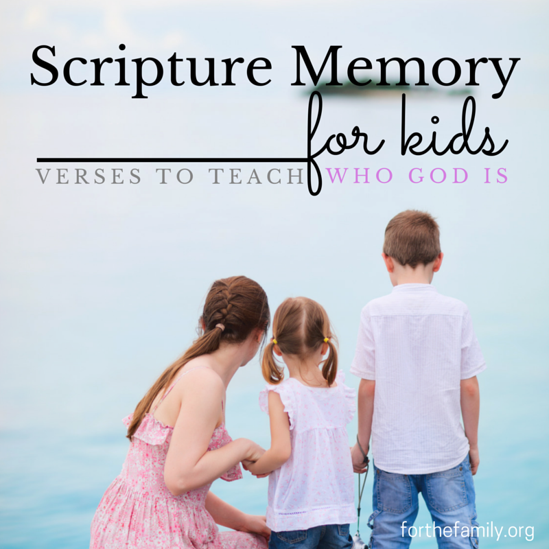 How do you tell your children about who God is? One of the easiest ways to share his glory with them is to direct them to his living word. Start to help your children hide these ten verses in their heart so they can truly know the wonder of our God!