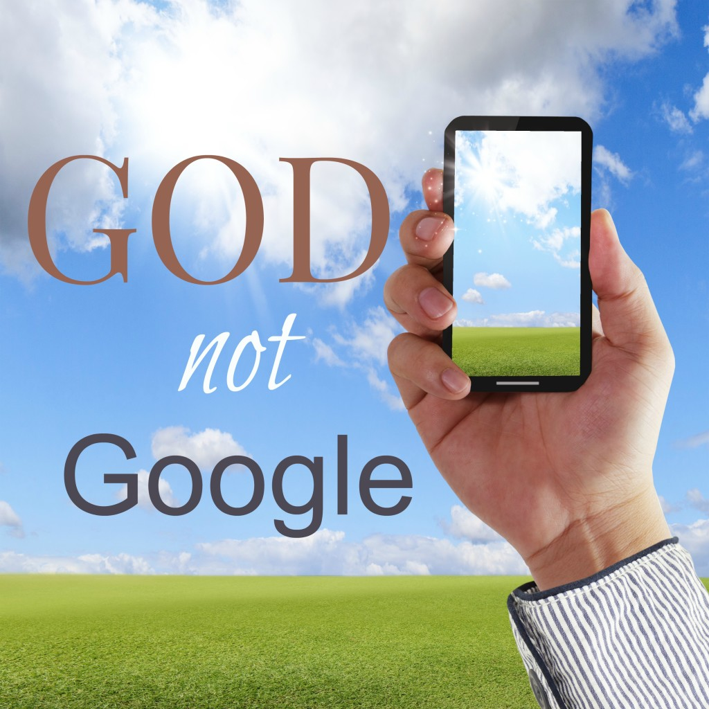 On average, people use their smart phones 150 times a day! Imagine if we prayed that often! Life's questions will not be answered by the data stream on our smart phones or tablets, but by the word of God himself. Let's change our focus together!
