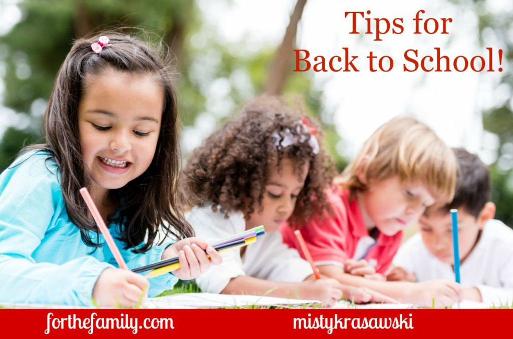 Ready to make this the best school year yet? We've got tips to keep you organized in tasks, mind and heart. Back to school is going to be great for your family!