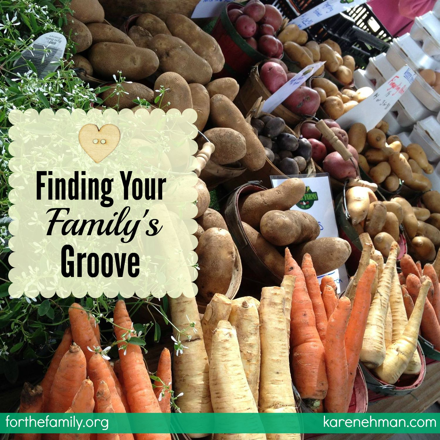 Finding Your Family's Groove