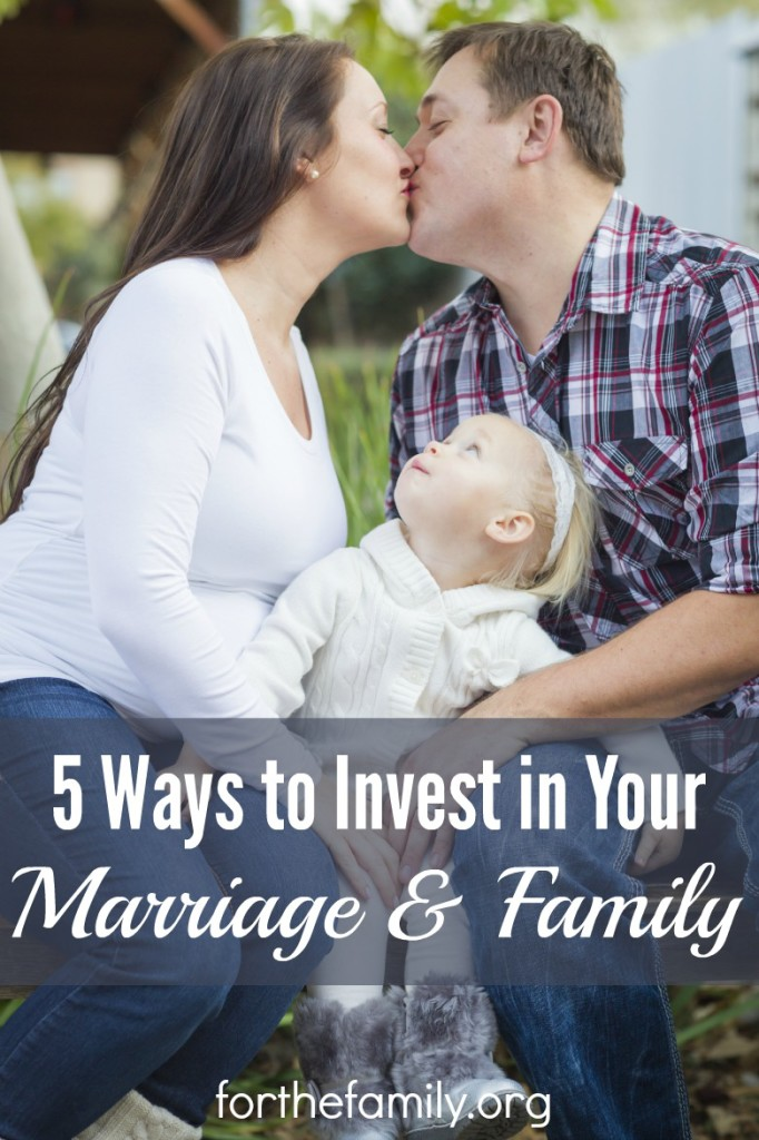 Where are you investing? Our most valuable assets are our marriage and our family- does your life build them up and protect them? If you're ready to pour into who you love most, you'll love these ideas for family time and leaving a legacy.