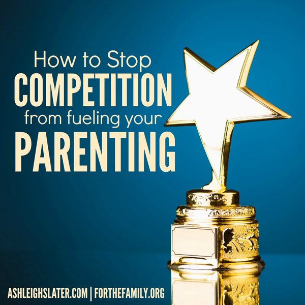 Its so easy to make parenting a competition. Its also easy t think that everyone else is doing more for their kids and that we need to keep up. Can you relate? Here's how we can remain faithful to the story being written in our children's lives!