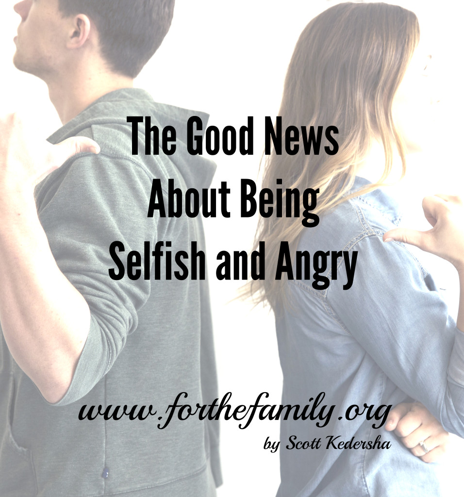 Do you struggle with selfishness or anger? There is good news for you in God's word and in your life. Come drink up some hope for a renewed heart and mind.