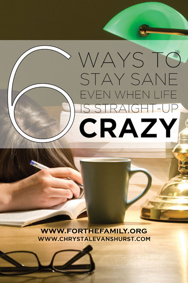 Are you overwhelmed? Most of us are, have been, or will be. How does living with stress affect our families and how can we flourish in the midst? Here are some of our favorite ideas for how you can thrive wherever you are today...
