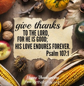 Happy Thanksgiving from ForTheFamily.org!
