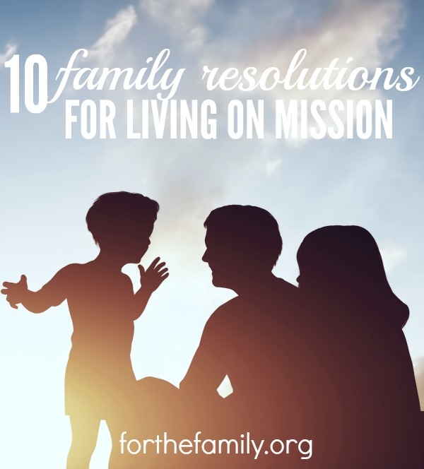 10 family resolutions