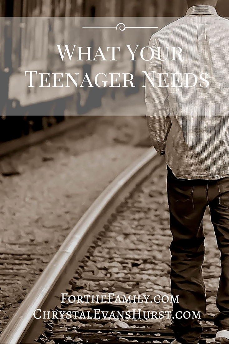 As they prepare to launch into adulthood, what are the felt needs of our kids? Do you know what your teens need from you? These three needs are the biggies. Don't journey beyond adolescence without them!