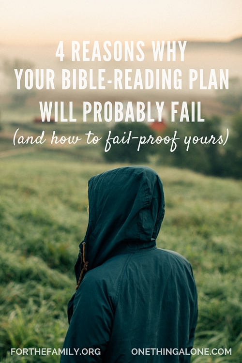 forthefamily fail Bible reading plan