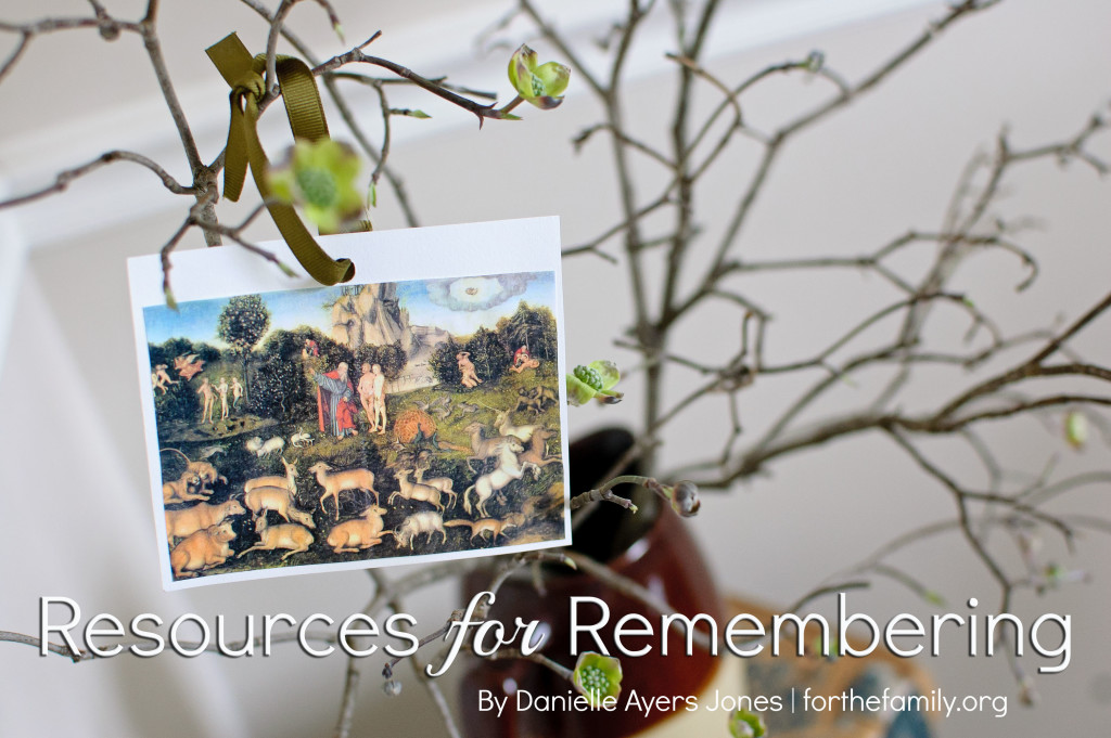 As the season of Lent begins next week, is your family looking for a meaningful way to mark the remembrance of the Easter season? These resources will help you think, reflect and anticipate the celebration of all God has done for us in dying for our sins.