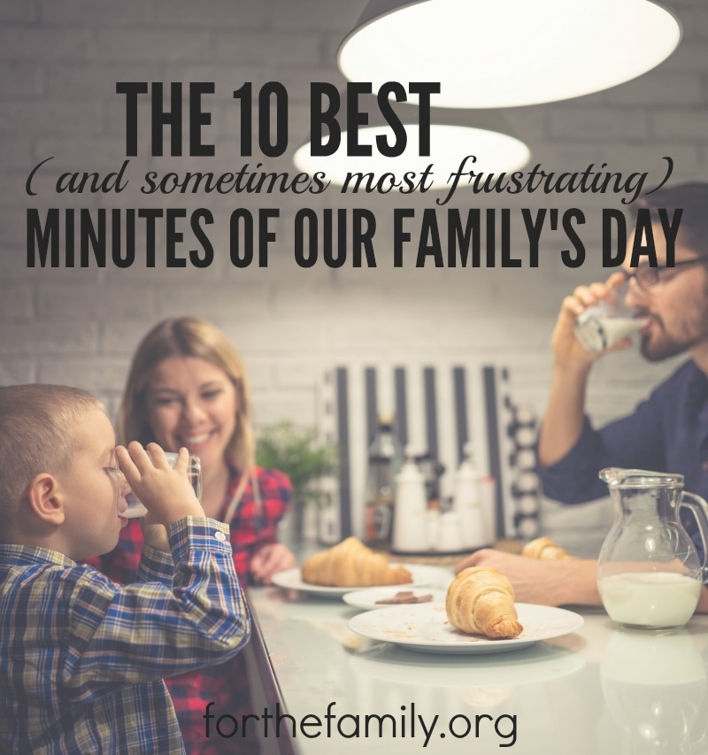 Family devotions don't have to be as hard as we think. God wants to meet us as we invest in reading his word together. Will you approach him, even through the messes and the imperfections of your days?